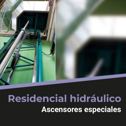 Residencial hidráulico - Ascennsores especiales