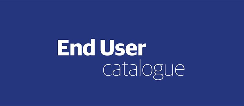 End user catalogue – 2020 Updated