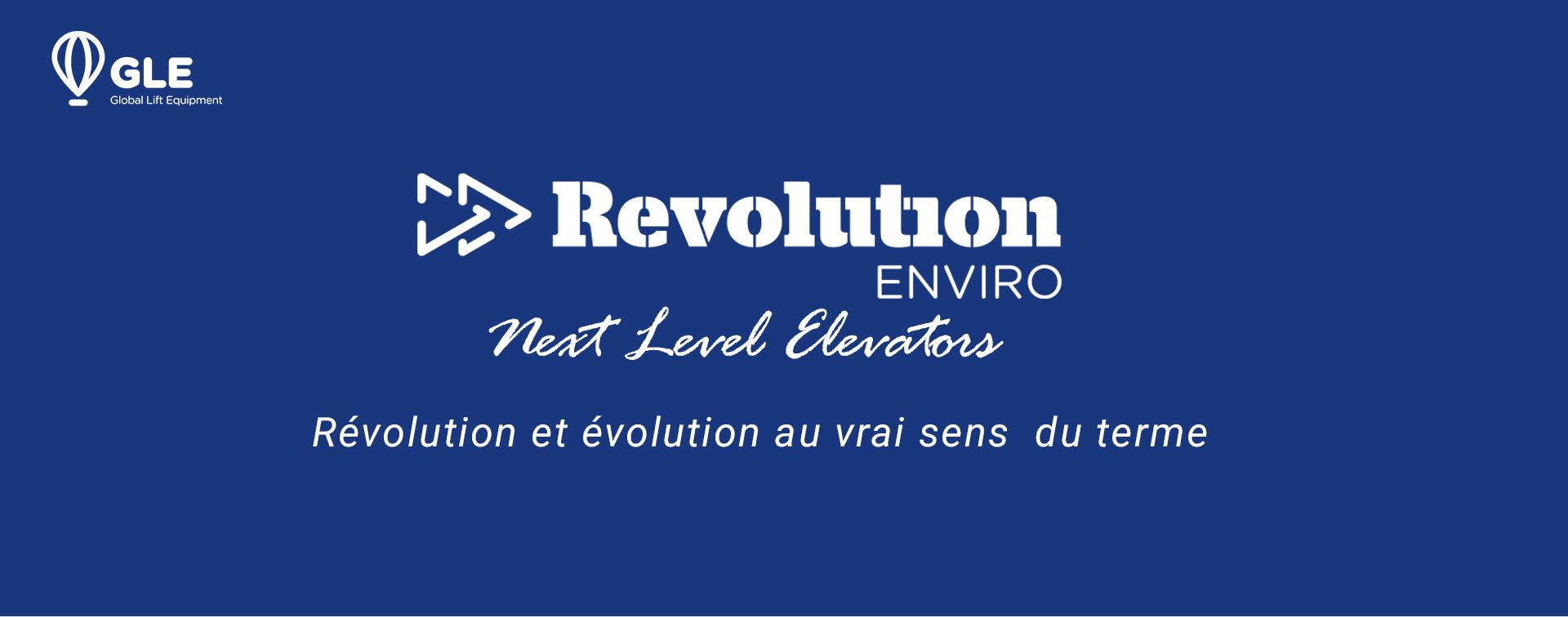 Révolution et évolution au vrai sens  du terme : Enviro REVOLUTION